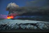 Lava Flows from Eyjafjallajokull Volcano Photographic Print by Orsolya Haarberg