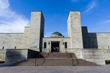 The Imposing Entrance to the Australian War Memorial from the Anzac Parade Photographic Print by Jason Edwards