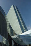 The Glass Enclosed Revel Resort and Casino Is the Highest Building in New Jersey Photographic Print by Richard Nowitz