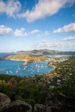 The View of Antigua's Dramatically Shaped Coastline from Shirley Heights Photographic Print by Matt Propert