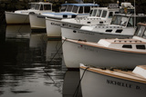 Fishing Boats at Anchor in Perkins Cove Photographic Print by Richard Olsenius
