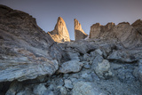 Bertha's Tower, a 2,000-Foot Spire Photographic Print by Cory Richards