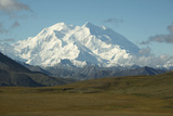 A Majestic View of Snow-Blanketed Mount Mckinley Photographic Print by Bob Smith