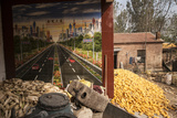The Corn Harvest in the Village of Shilizha Photographic Print by Michael S. Yamashita