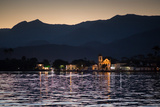 Nossa Senhora Das Dores Church in Paraty at Sunset Photographic Print by Alex Saberi