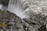 View of Dettifoss Waterfall Photographic Print by Jill Schneider