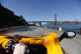 Driving a Gocar Through San Francisco Photographic Print by Jill Schneider