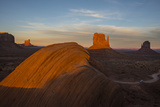 The Mittens in Monument Valley Navajo Tribal Park Photographic Print by Diane Cook Len Jenshel