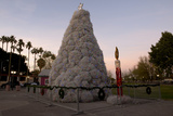 A Christmas Tree Made of Tumbleweeds Photographic Print by Diane Cook Len Jenshel