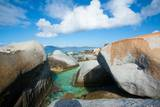 Rocks on the Beach at 'The Baths' on Virgin Gorda Photographic Print by Matt Propert