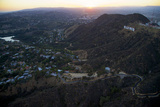 The Hollywood Sign and Griffith Park in Los Angeles Photographic Print by Steve Winter