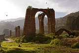 The Remains of an Aqueduct Outsidef Angangueo, Michoacan, Mexico Photographic Print by Medford Taylor