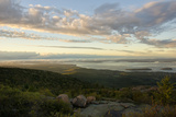 Frenchman Bay from Cadillac Mountain, at an Elevation of 1,528 Feet Photographic Print by Richard Olsenius