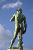 Michelangelo's David in the Piazzale Michelangelo Photographic Print by Macduff Everton