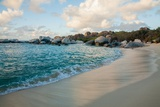 The Sky Reflected in the Wet Sand of 'The Baths' Beach on Virgin Gorda Photographic Print by Matt Propert