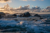 Surf Crashes onto 'The Baths' Beach on Virgin Gorda Photographic Print by Matt Propert