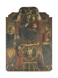Holy Conversation Giclee Print by Andrea Del Castagno