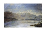 Ascona Overlooking the Islands of Saint-Leger, 1886-1887 Giclee Print by Dante Alighieri