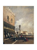Venice, Glimpse of Ducal Palace Giclee Print by Achille Vespa