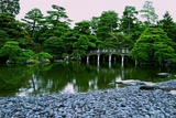 A Bridge on the Grounds at Kyoto's Nijo Castle Photographic Print by Heather Perry