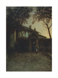 Dawn, 1891 Giclee Print by Angelo Morbelli