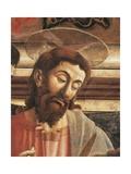 Jesus' Face, Detail from the Last Supper, 1450 Giclée-tryk af Andrea Del Castagno