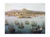 Charles of Bourbon Departing for Spain from Naples, October 7, 1759 Giclee Print by Antonio Mancini