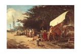 Feast-Day, Spain Giclee Print by Angelo Maria Costa