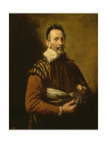 Portrait of an Actor, 1623 Giclee Print by Domenico Induno
