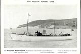 Yellow Funnel Line, William Allchorn, Leyland Engines Photographic Print