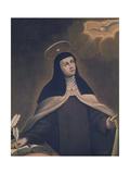 St. Teresa of Avila Giclee Print by Alonso Sanchez Coello