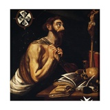 Penitent St Dominic, 1621 Giclee Print by Alphonse Etienne Dinet