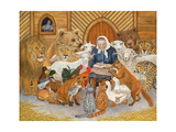 Bedtime Story on the Ark, 1994 Giclée-tryk af Domenico Fetti or Feti