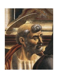 Peter's Face, Detail from the Last Supper, 1450 Giclée-tryk af Andrea Del Castagno