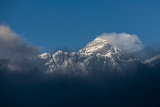 Mount Everest Seen Here from Yeti Mountain Home at Kongde in Nepal Photographic Print by Alex Treadway