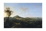View of San Leucio Giclee Print by Arcangelo Corelli