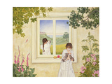 Outside Out Times Julie, 1988 Giclee Print by  Ditz