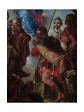 Madonna with Saints Giclee Print by Battista Agnese