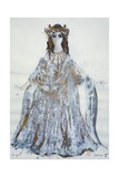Delilah, Sketch of Costume for Samson and Delilah Opera Giclee Print by Charles Claude Pyne