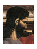 Judas' Face, Detail from the Last Supper, 1450 Giclée-tryk af Andrea Del Castagno
