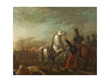 Cavalry Charge of Federal Army, 1830 Giclee Print by Carlos Nebel
