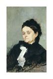 Portrait of Virginia Villari Giclee Print by Domenico Morelli