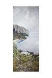 View of Capri Giclée-tryk af Carlo Cignani