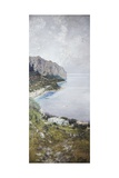 View of Capri Giclee Print by Carlo Cignani