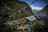 A Small Village in the Lukla Valley at the Beginning of the Trek to Everest Base Camp Photographic Print by Alex Treadway