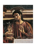 Apostle Philip, Detail from the Last Supper, 1450 Giclée-tryk af Andrea Del Castagno
