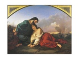 Two Christian Martyrs Sentenced to Execution, 1851 Giclee Print by Domenico Morelli