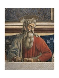 The Apostle Andrew, Detail from the Last Supper, 1450 Giclée-tryk af Andrea Del Castagno