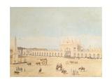 Plaza De La Victoria, Buenos Aires, 1829 Giclee Print by Caspar David Friedrich