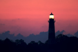 The Assateague Lighthouse Shining at Dawn Photographic Print by Robbie George